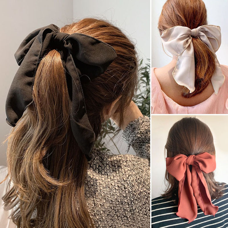 Korean Hair Bow Kawaii Flower Crown Hair Scrunchies Femme Sale Cute Hair Bands For Girls Accessories Lote Al Por Mayor 2020 New