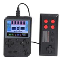 Get more info on the GC26 Mini Video Game Console Built-in 500 Games Retro Console for 1 2 Players 3inch Handheld Game Player with Gamepad AV Out