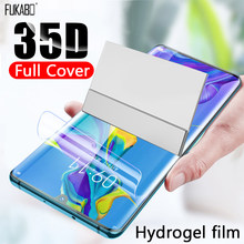 35D Full Cover Hydrogel Film For Xiaomi Redmi Note 8 7 K20 5 Pro 7A 4X Screen Protector For Xiaomi 9T 9 8 A3 Lite Cc9e Not Glass(China)
