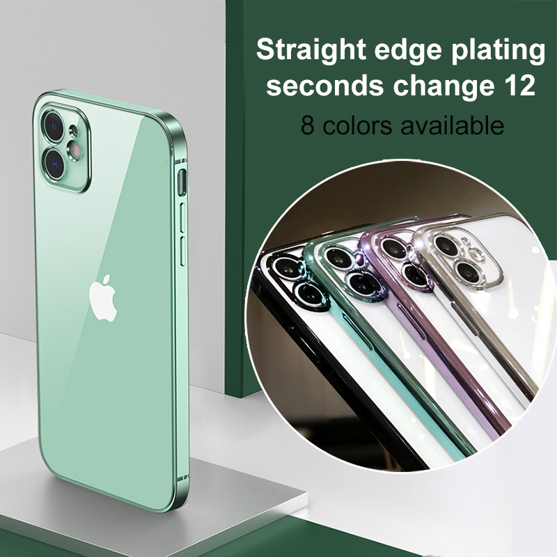 Case Mate Iphone 11 | Luxury Square Plating Frame Case For IPhone 11 Pro Max SE 2 12 XR X XS Max 6 6S 7 8 Plus 11 Slim Soft Silicone Clear Phone Cover