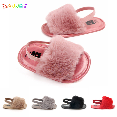 Lovely Soft Sole Plush Baby Girls First Walkers Shoes Bebe Infant Prewalkers Summer Baby Footwear Toddler Girls Crib Shoes Pakistan