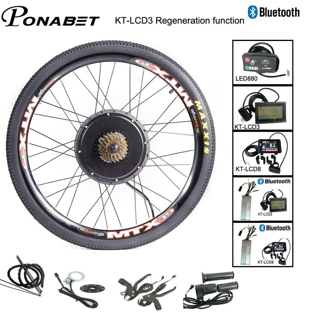 Ebike Conversion Motor Front Rear Wheel Kit 24 26 27 5 28 29 Inch
