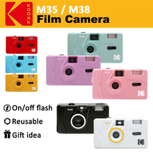 Camera Reusable-Film Kodak Vintage Retro 35mm Red/cobalt-Blue M35/m38