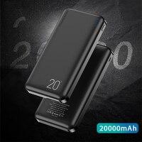 FLOVEME 20000 мАч банк питания для Xiao mi внешняя батарея портативное зарядное устройство двойной USB mi Poverbank Bateria Externa Movil