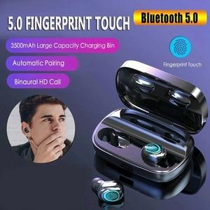 Image 3 - Auriculares Tws inalámbricos por Bluetooth, Mini auriculares deportivos para correr con micrófono y Control táctil, PK F9