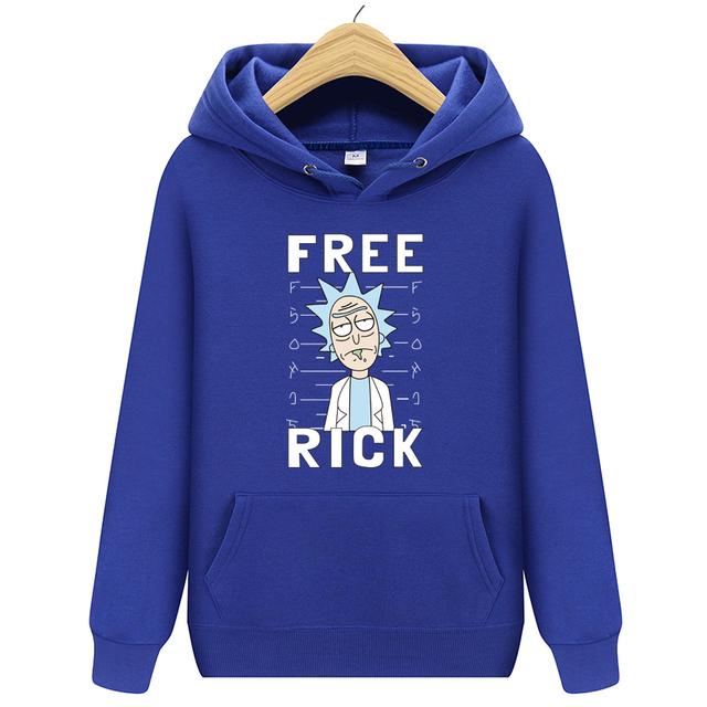 FREE RICK THEMED HOODIE (11 VARIAN)