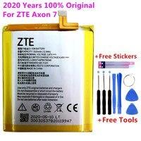 Bateria original do telefone de substituição para zte axon 7 bateria do telefone para zte axon 7 5.5 polegada a2017 li3931t44p8h756346 baterias + ferramentas