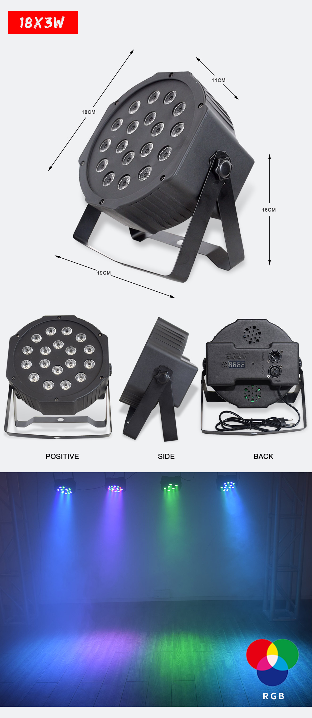 H7b4c9fcdbd2e46b0b8b5700b004cf562z - China dj par slim led par 7x12W RGBW 4IN1 dmx led par light rgbw No Noise