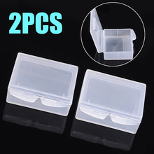 2Pcs/lot Plastic Clear Battery Storage Case Cover For Gopro3/3 SJ4000/5000 Holder Box
