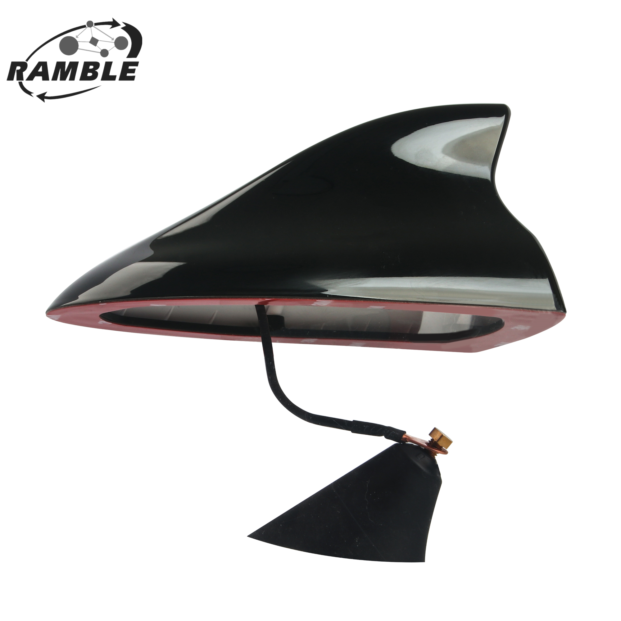 RAMBLE For Kia Sportage 3 4 R KX3 KX5 Soul Optima Shark Fin Antenna Cover Car Radio Aerials Accessories 2011 2012 2013 2019 New