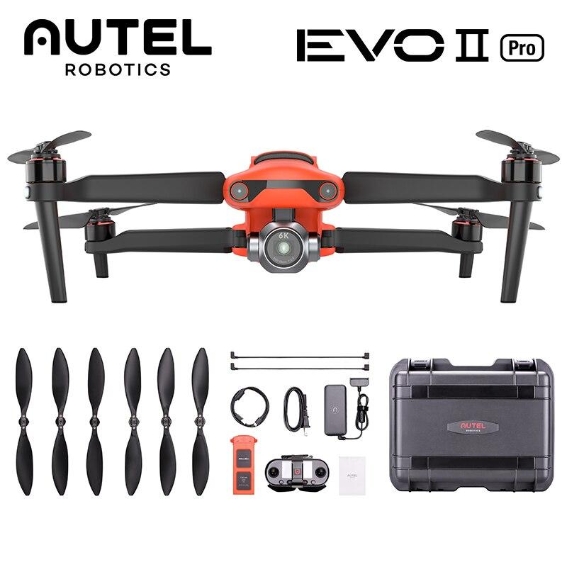 Autel Robotic EVO 2 8K 6K Pro Drone, 40 минут полета, Квадрокоптер с камерой 60 кадров в секунду, Ultra HD видео фотографии, авторизованный дилер