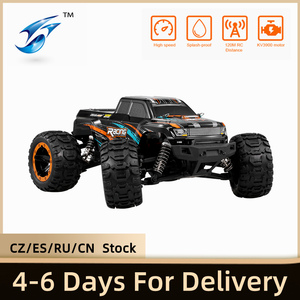 Linxtech Brushless RC Car 16889A 1/16 4WD 45km/h High Speed RC Racing Car with Brushless Motor Big Foot Off-Road Car