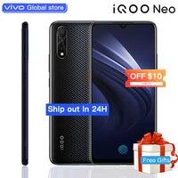 vivo iQOO Neo Mobile Phone celular 8GB 128GB 6.38 Snapdragon 845 Octa Core 3 Cameras 4500mAh Smartphone 22.5W Flahsing Charge