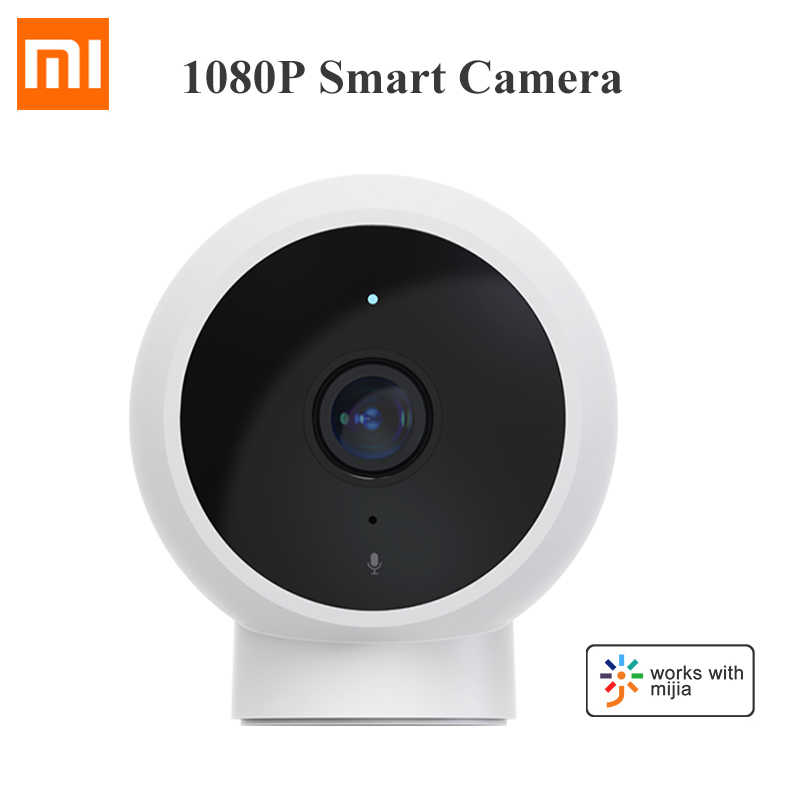 Xiaomiกล้องIP WiFi 1080P HD Night Vision AI Detection 170 ° IP65 กันน้ำBaby Security Monitor mijia