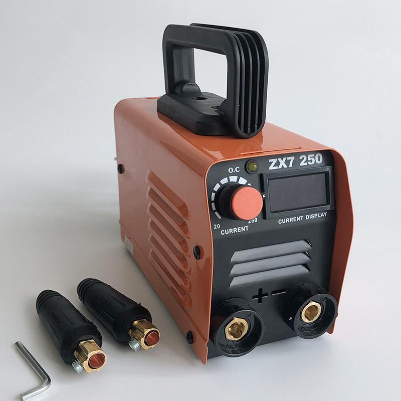 20-250A 220V ZX7-250 Mini MMA Welding Machine Inverter Arc Welding Machine Rod Welding Machine