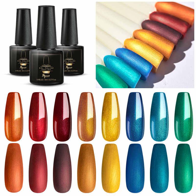 Mtssii 6ml 60 Esmalte De Uñas De Gel De Colores Pure Nail