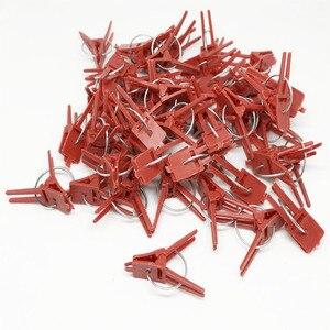 Image 4 - Pince de greffe en plastique 50 pièces/lot