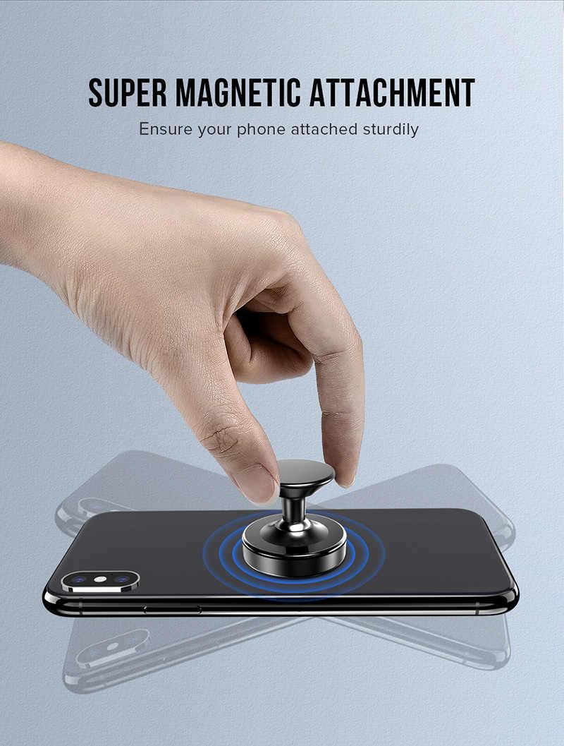 360 درجة سيارة حامل هاتف المغناطيسي ل جيلي Emgrand 7 Gc6 Gc7 Gx7 X7 Lc Ec8 الباندا