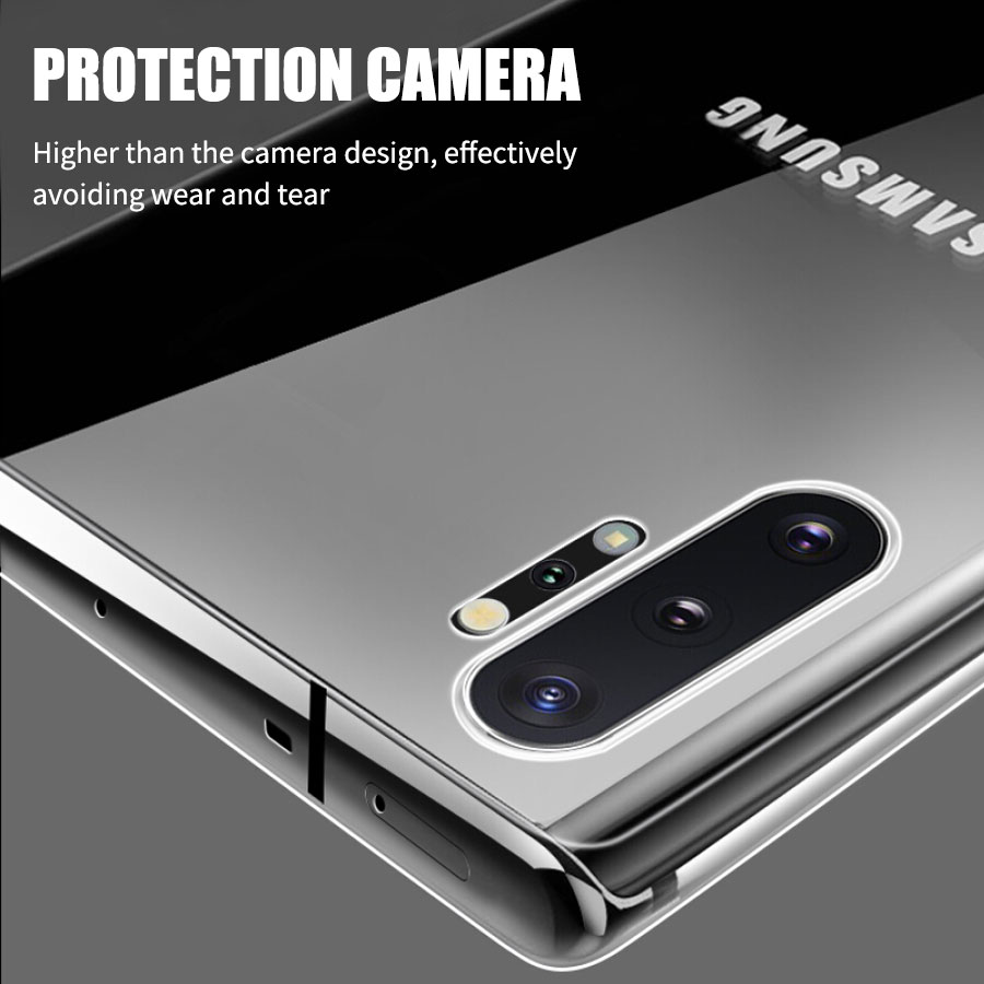 Clear Samsung Galaxy Note 8, 9, Note 10, Note 10 Plus Case 8