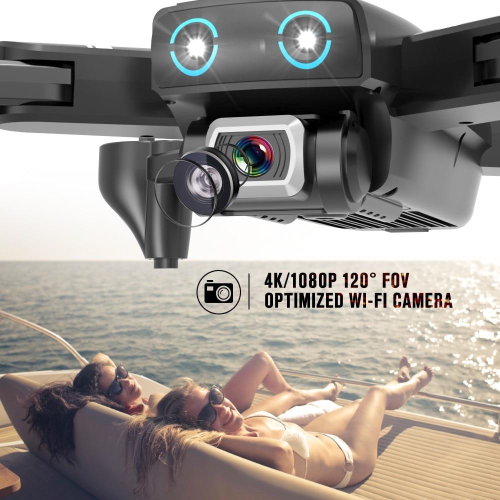 S167 GPS Drone avec caméra 5G RC quadrirotor Drones HD 4K WIFI FPV pliable hors Point vol Photos vidéo Drone hélicoptère jouet - 4