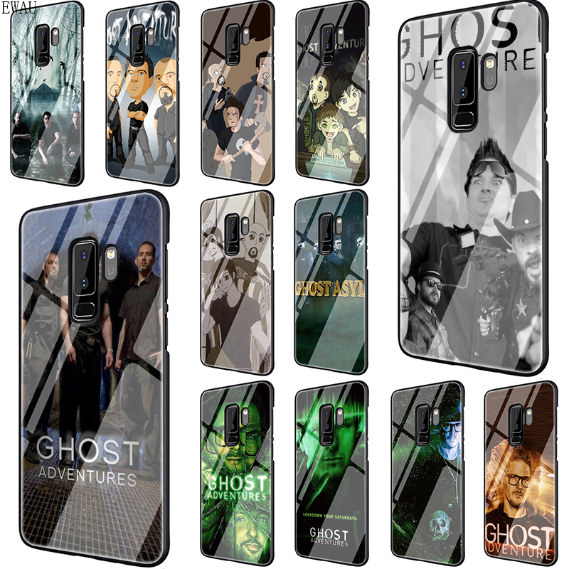 EWAU Ghost Adventures Tempered Glass phone case for Samsung S7 Edge S8 S9 S10 Note 8 9 10 plus A10 20 <font><b>30</b></font> <font><b>40</b></font> <font><b>50</b></font> <font><b>60</b></font> <font><b>70</b></font> image