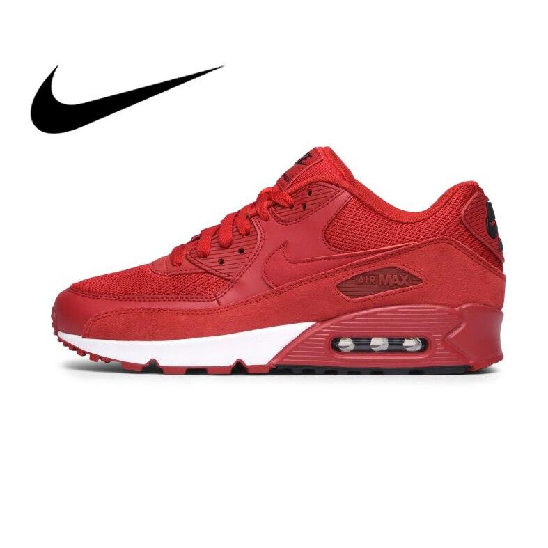 Original authentique NIKE hommes AIR MAX 90 essentiel respirant chaussures de course baskets Sports de plein AIR Tennis athlétique 537384-604