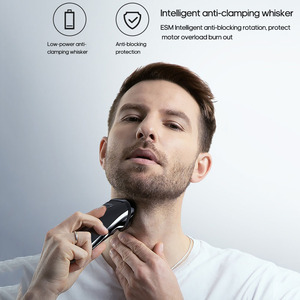 Image 5 - Youpin 2019 enchen blackstone 3 barbeador elétrico dos homens 3d máquina de barbear barba aparador cabelo sem fio