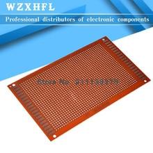 pcs 9x15 9*15cm Single Side Prototype PCB Universal Board Experimental Bakelite Copper Plate Circuirt Board yellow