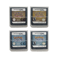 For Nintendo DS 2DS 3DS Video Game Cartridge Console Card Poke Series HeartGold SoulSilver EU US Version