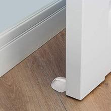 سدادة الباب لا حاجة لكمة ذاتية اللصق المضادة للتصادم أداة الحفاظ على الباب مفتوحًا للقبض على الباب توقف للمنزل مكتب حماية الجدران والأثاث