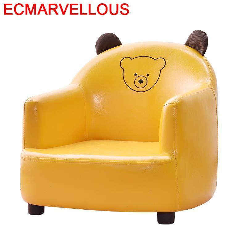 Divano Bambini Bed Couch Princess Cute Chair Bedroom For Kids Silla Princesa Dormitorio Children Infantil Baby Children's Sofa