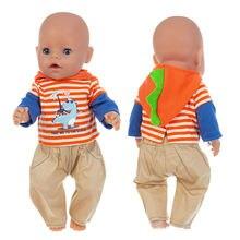 Одежда для новорожденных 17 дюймов американская кукла 43 см