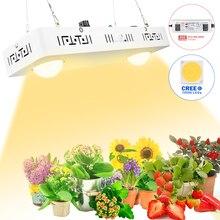 Kısılabilir yuvarlak LED ışık büyümek tam spektrum CREE CXB3590 100W 200W 400W 600W büyüyen iç mekan lambası bitki büyüme paneli aydınlatma
