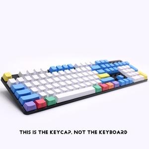 Image 4 - الملف الشخصي ANSI 104 مفاتيح فارغة سميكة PBT الطباشير Keyset غطاء المفتاح لمفاتيح Cherry MX لوحة المفاتيح الميكانيكية