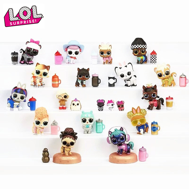 L. O. L Surprise Blind Box Furry Pet <font><b>Doll</b></font> Toy lol surprise <font><b>dolls</b></font> girl toys for Children's birthday gifts image