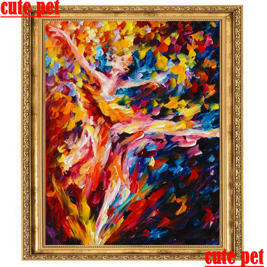 5D DIY Full Drill Diamond Oil Round Painting Cross Stitch Embroidery Mosaic