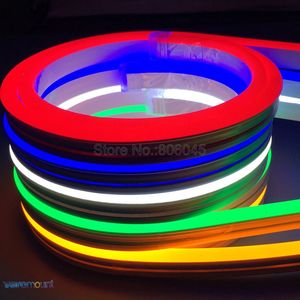 Image 5 - 5m DC12V Flexible LED Strip Neon Tape SMD 2835 Soft Silicon Rubber Tube Outdoor Waterproof Light 6*12mm Blister Packaging