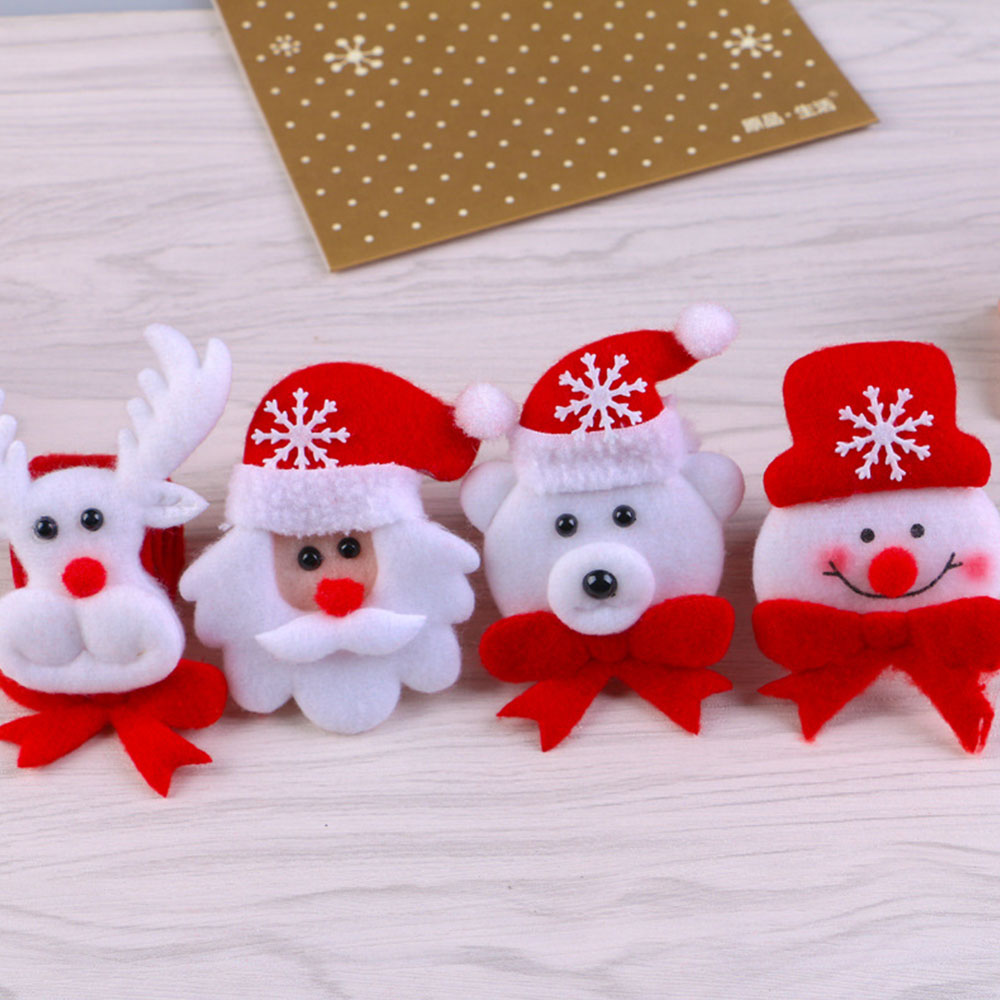 Racelet Kids Holiday Hand Ring Party Fawn Bear Snowman Santa Claus Gifts With LED Luminous Christmas Bracelet