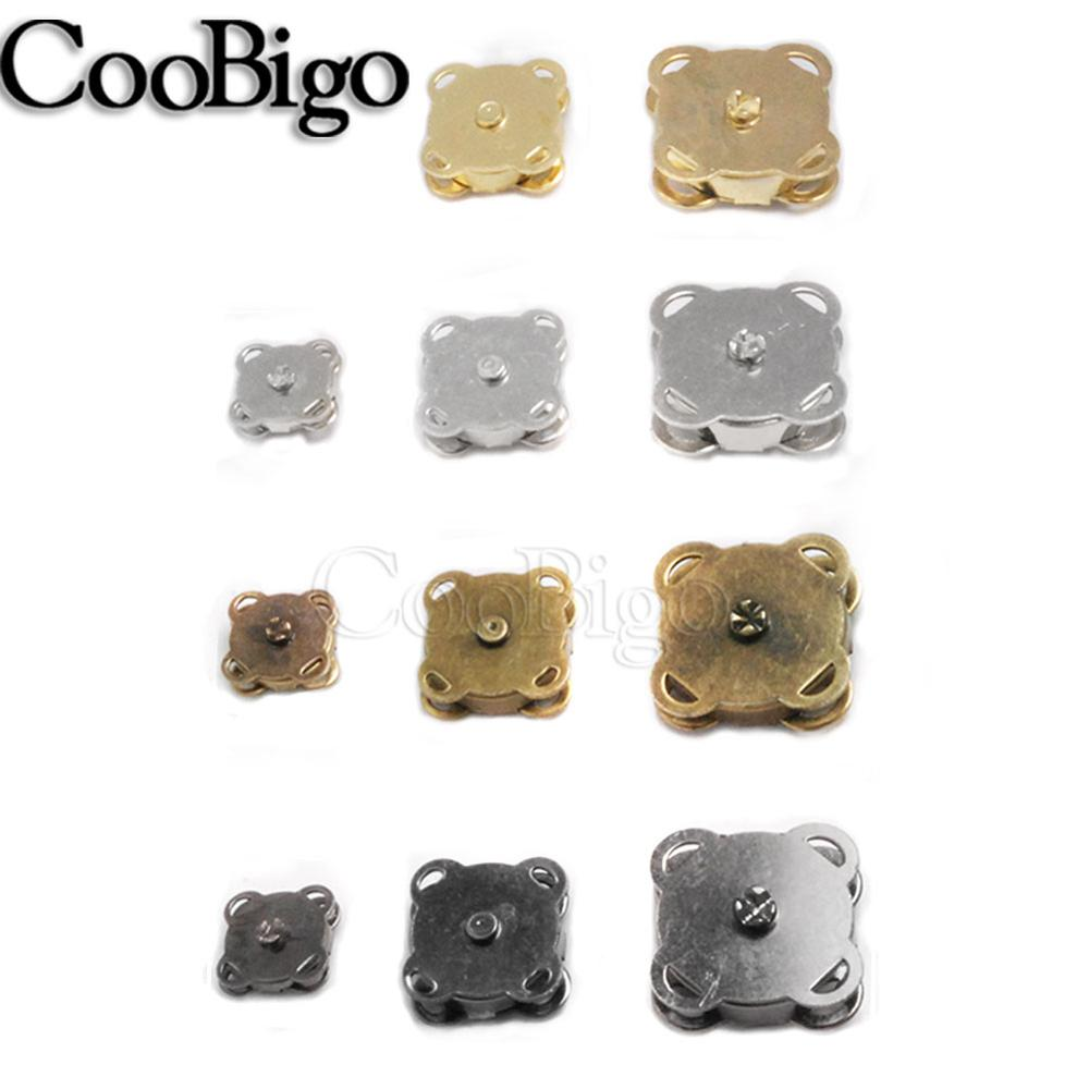 10set 10mm 15mm 18mm 4 Color Metal Magnetic Snap Fasteners Clasps Buttons Handbag Purse Wallet Craftories 10mm 15mm 18mm 4 Color|Buttons|   - AliExpress