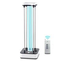 36W 60W UV Lamp Desinfection Portable Germicidal UV Lamp Ultraviolet Ozone Quartz Light Timer Remote Control 110V 220V