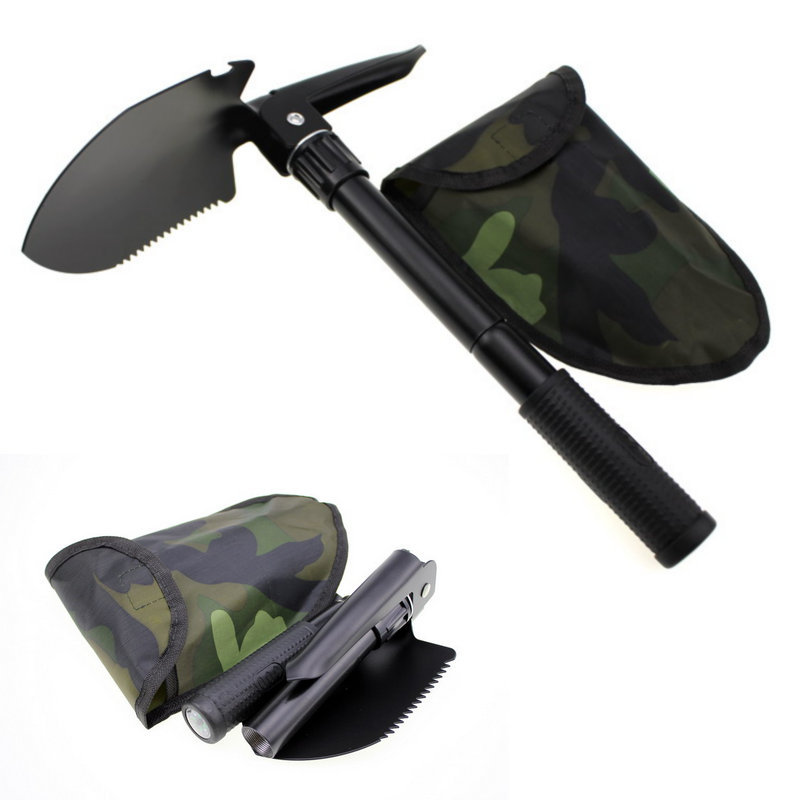 Camping Tool/Multi-functional Folding Shovel Small Shovel/Pickaxe Camping Zhe Die Qiao Manufacturers Direct Selling