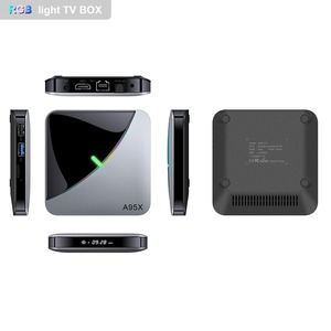 Image 2 - A95XF3 Air Rgb Licht Tv Box Android 9.0 4Gb 64Gb Amlogic S905X3 Doos 8K Hd 2.4/5G Wifi Media Server Android Tv Box