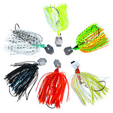 New hot beard road sub-bait tassel sequins anti-hanging road road Asian bait fishing accessories 12g 15g 20g(China)
