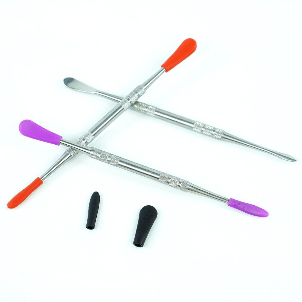 140 mm 3 Arten von Dabberwerkzeug trockene Kr/äuter 1 St/ück Metall f/ür Wachs-Verdampfer Titannagel DAB-Werkzeug Edelstahl