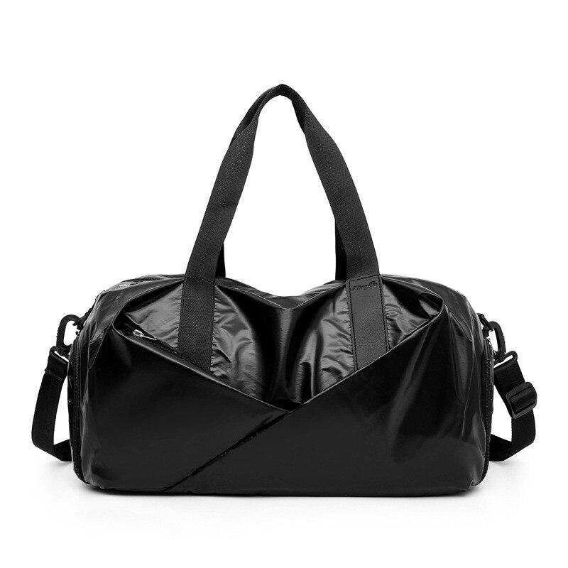 Спортивная водонепроницаемая Спортивная Сумка для йоги с обувью, мужская спортивная сумка с двойной молнией, мужская женская сумка через