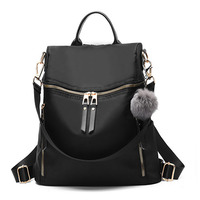 New Wave Female Backpack Female Student Fashion Korean Version Of The Style Female Bag