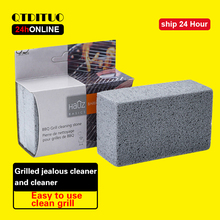 Grease-Cleaner Brick Bbq-Tools Barbecue-Racks Cleaning-Stone Block Stains 1/3pcs