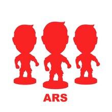 ARS Football Soccer Star 6.5 cm Height Resin Dolls 2.5 Action figure Player toys
