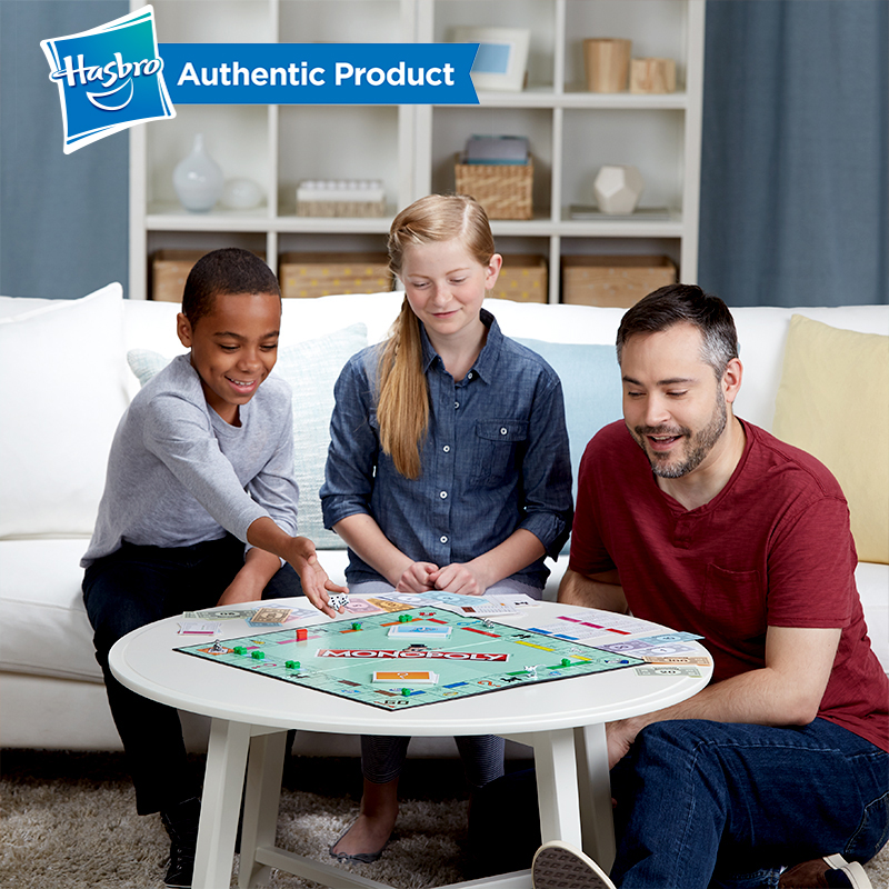 Hasbro monopole commerce rapide jeu de commerce immobilier pour les marchandises de jeu pour adultes Version chinoise - 5
