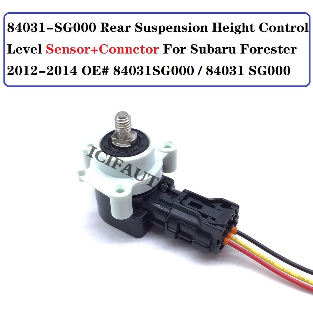 84031-SG000 датчик уровня контроля высоты задней подвески + соединитель для Subaru Forester 2012-2014 OE #84031SG000/84031 SG000